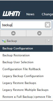 WHM AWS S3 Glacier Backup - Quick Search