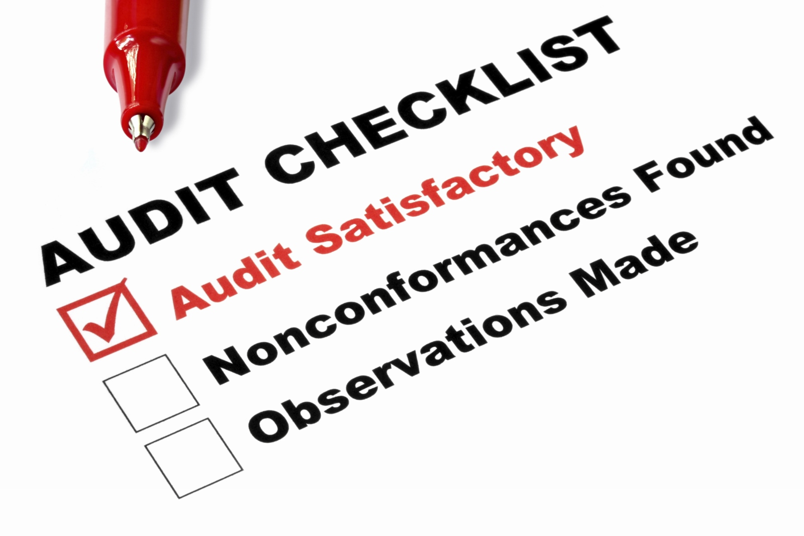 PCI Compliance Audit Checklist