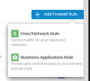 Sophos DNAT - Add Firewall Rule